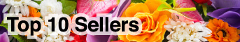 Top 10 Sellers Flowers